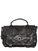 Proenza Schouler Ps1 Medium Lux Leather Satchel