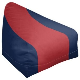 Thumbnail for your product : East Urban Home Boston Standard Classic Bean Bag Fabric: White/Red/White