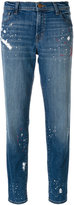 J Brand Johnny boy fit jeans - women - Cotton/Polyester - 27