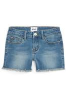 Hudson Girl's Frayed Hem Stretch Denim Shorts