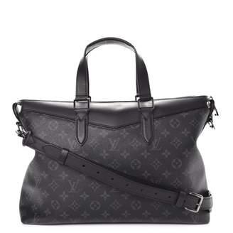 Louis Vuitton Briefcase Explorer Monogram Eclipse Black/Grey