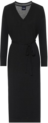 Max Mara Calamai wool midi dress