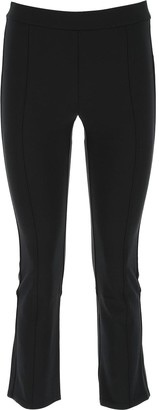 Tory Burch Button Detail Cropped Trousers