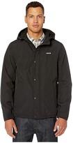 Levi's Rain Shell Jacket w/ Fleece Lining (Black/Black) Men's Clothing