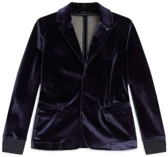 Emporio Armani Velvet Blazer