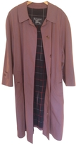 Burberry Pink Cotton Trench coat