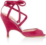 Alchimia Di Ballin Women's Lidae Suede Ankle-Tie Sandals