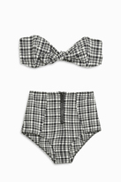 Lisa Marie Fernandez Poppy Plaid Bikini Set