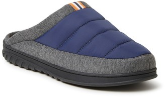 Dearfoams Men's Ryan Quilted Scuff Slippers