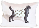 The Well Appointed House Black Dog Pillow