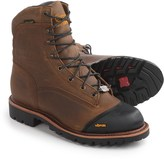 """Chippewa Apache Outdoor Leather Boots - Waterproof, Insulated, 8"""" (For Men)"""