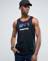 Patagonia Shop Sticker Vest Regular Fit In Black