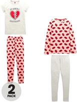 Very Mix and Match Heartbreaker 2 Pack PJ Set