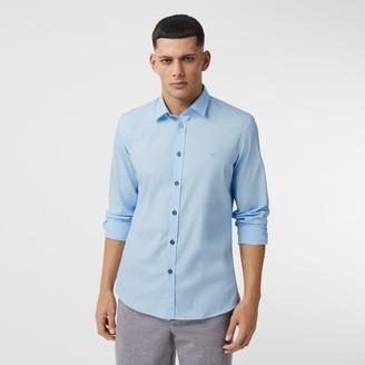 Burberry onogra otif Stretch Cotton Poplin Shirt