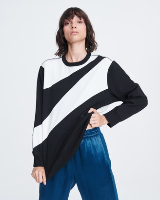 Rag & Bone Abstract zebra pullover
