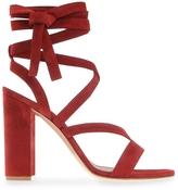 Gianvito Rossi Janis Block-Heel Sandal