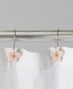 Saturday Knight Ltd. Misty Floral Shower Curtain Hooks Bedding