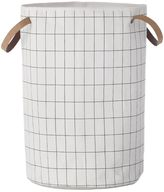 ferm LIVING Grid Hand-Printed Laundry Basket