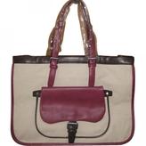 Longchamp Pink Cotton Handbag Balzane