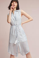 Moon River Sailor Striped Shirtdress