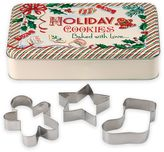 "Lenox Home for the HolidaysTM 4-Piece ""Holiday Cookies"" Tin and Cookie Cutters Set"