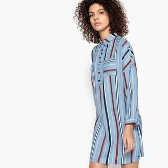 Suncoo Cesar Striped Shirt Dress