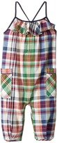 Ralph Lauren Madras Plaid Romper Girl's Jumpsuit & Rompers One Piece