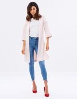 Miss Selfridge Tie Side Kimono Jacket
