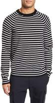 Vince Regular Fit Striped Wool Sweater