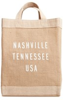 Apolis Nashville Simple Market Bag - Brown