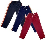 Indistar Boys Premium Cotton Full Length Lower/ Track Pant with 2 Open Pocket(Pack of 3)__