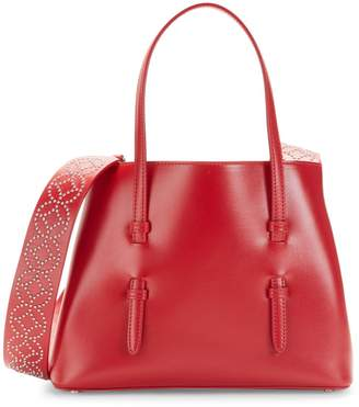 Alaia Mini Open Leather Tote