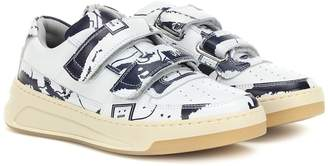 Acne Studios Steffey Map leather sneakers