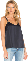 Vince Wide Strap Cami in Blue. - size L (also in )