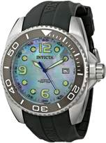 Invicta Men's Pro Diver Dial Dark Grey Polyurethane
