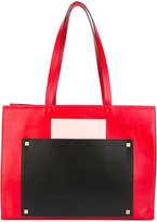 Visone - Bertha shopping tote - women - Cotton/Leather - One Size