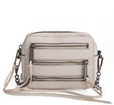 Rebecca Minkoff Four Zip Moto Leather Camera Bag - Grey