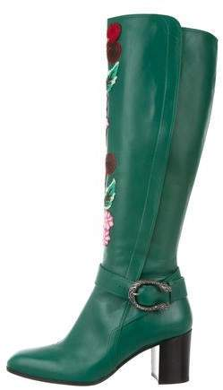 dafb26302 Gucci Green Women's Boots - ShopStyle