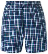 Charles Tyrwhitt Royal Plaid Woven Boxers Size Small