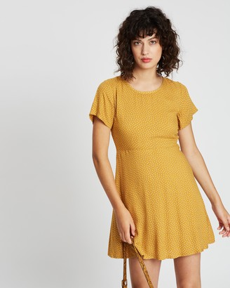 All About Eve Spot Me Fit & Flare Dress
