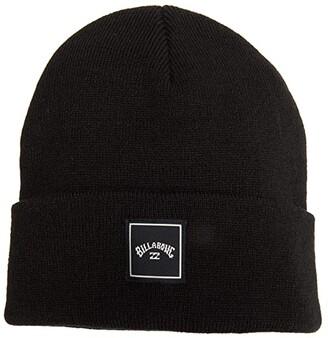 Billabong Stacked Beanie (Black) Caps