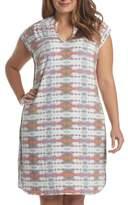Tart Plus Size Women's 'Mellie' Split Neck Jersey Dress