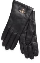 Vivienne Westwood Orb Gloves 82020001 Black One Size