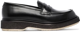 Adieu Paris Leather Loafers