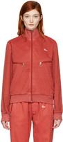 Off-White Red Slim Track Jacket