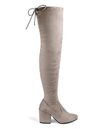 Simply Be Irina Boots Ex Wide Fit Super Curvy Calf
