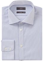 John Lewis Bengal Stripe Slim Fit Shirt, Blue/white