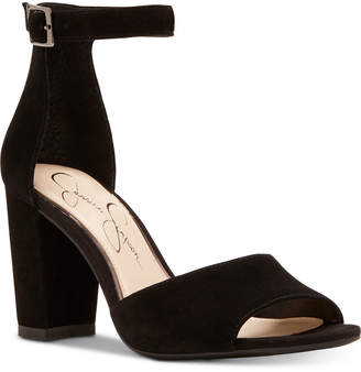 Jessica Simpson Sherron Block-Heel Sandals Women Shoes