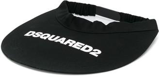 DSQUARED2 Logo-Print Visor