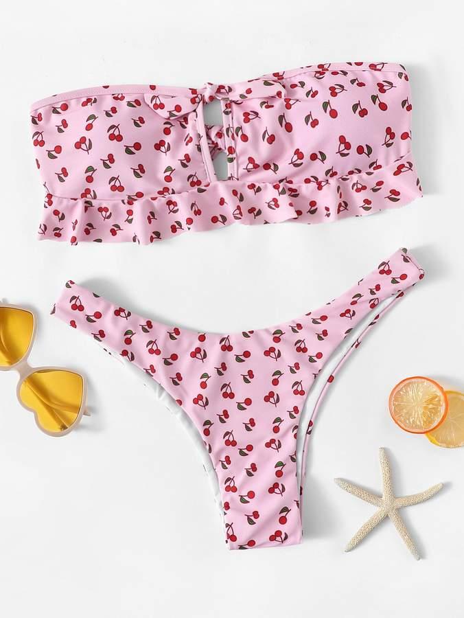 d06f1b16dd7e38 Cherry Print Swimwear - ShopStyle